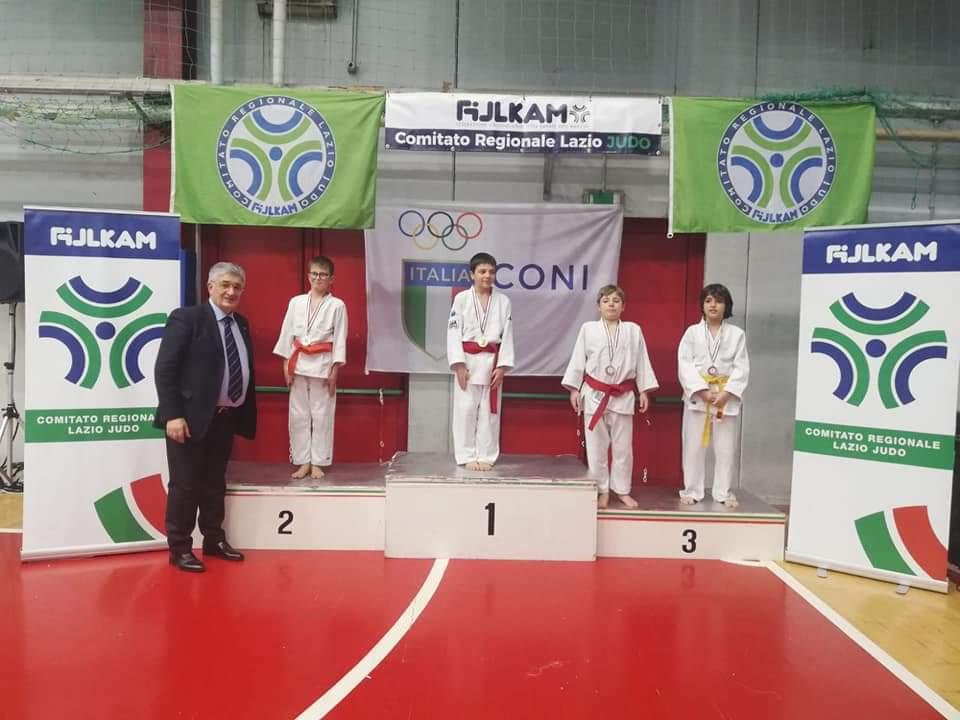 Medaglie Judo Club Mezzaroma