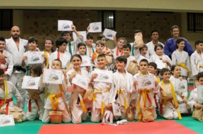 Passaggio di cintura - Judo Mezzaroma