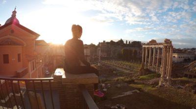 Running in Rome