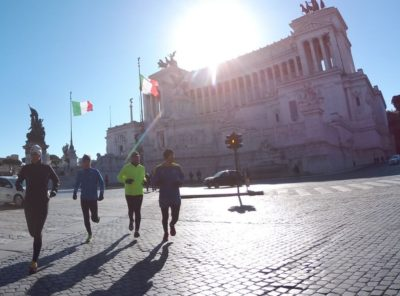 Sightrunning in Rome