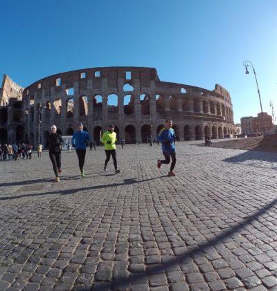 Running Tour in Rome